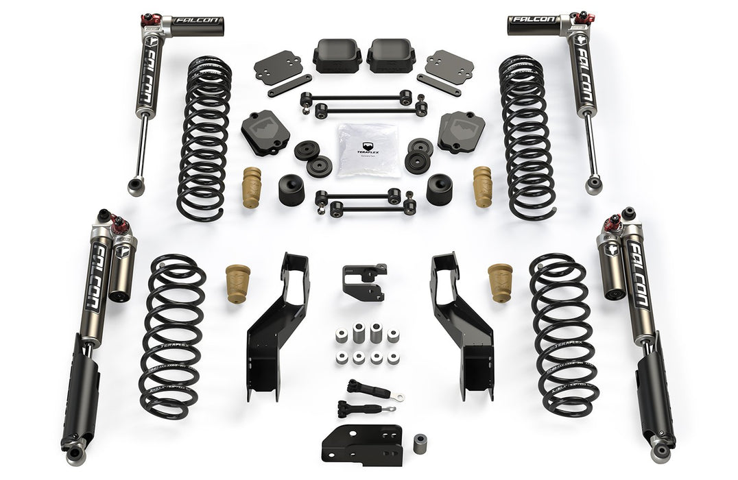 JLU 3.5 Inch Sport ST3 Suspension System with Falcon 3.3 Shocks For 19-Current Jeep JL Wrangler Unlimited 4 Door TeraFlex