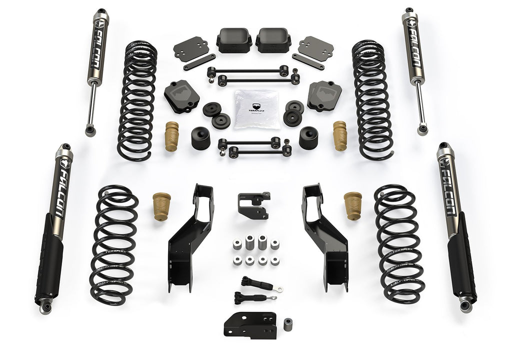 JL 3.5 Inch Sport ST3 Suspension System with Falcon 2.1 Shocks For 19-Current Jeep JL Wrangler 2 Door TeraFlex