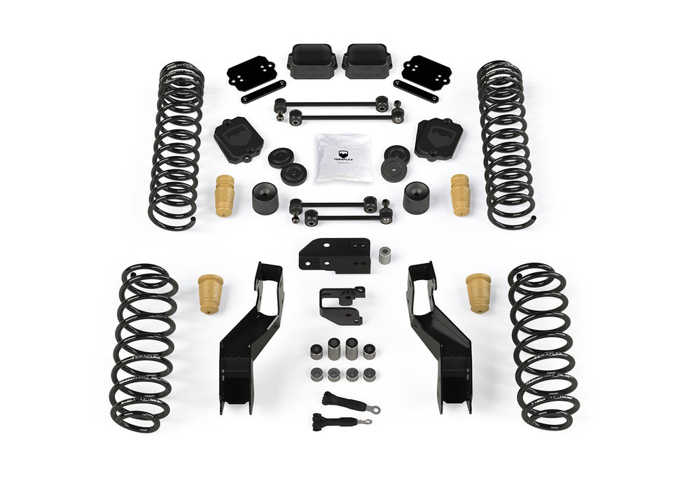 JLU 4.5 Inch Sport ST4 Suspension System No Shocks For 19-Current Jeep JL Wrangler Unlimited 4 Door TeraFlex