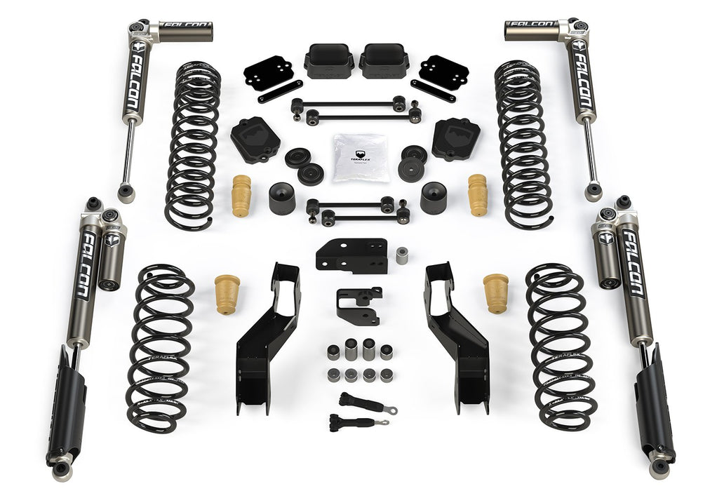 JLU 4.5 Inch Sport ST4 Suspension System with Falcon 3.1 Shocks For 19-Current Jeep JL Wrangler Unlimited 4 Door TeraFlex