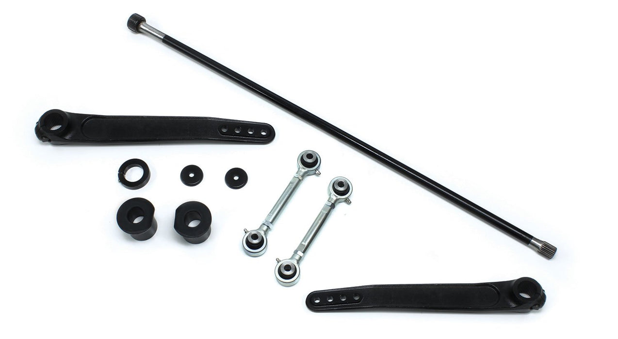 Jeep TJ/LJ 4-6 Inch Lift Trail-Rate Forged S/T Front Sway Bar System 97-06 Wrangler TJ/LJ TeraFlex