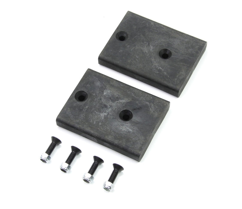 Jeep JK/JKU SpeedBump 0.75 Inch Rear Lower Bump Stop Strike Pad Kit Pair 07-18 Wrangler JK/JKU TeraFlex