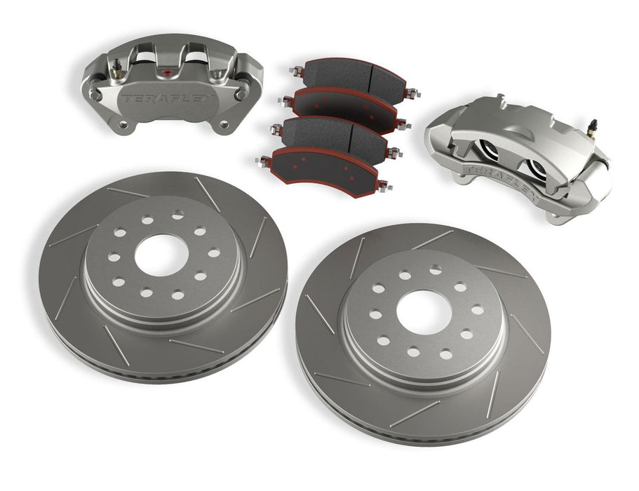Jeep JK/JKU Front Big Brake Kit w/ Slotted Rotors 07-18 Wrangler JK/JKU TeraFlex