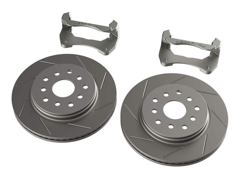 Jeep JK/JKU Front Performance Slotted Big Rotor Kit 07-18 Wrangler JK/JKU TeraFlex