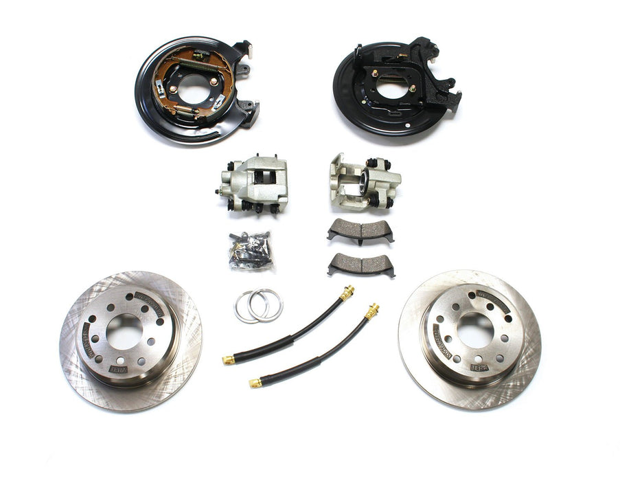 Jeep YJ/XJ Rear Disc Brake Conversion Kit 87-90 YJ /84-88 XJ TeraFlex