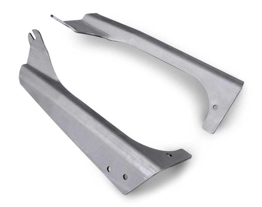 TJ A-Pillar 50 Inch Light Bar Mounts Bare Steel 45-28-R54 Poison Spyder
