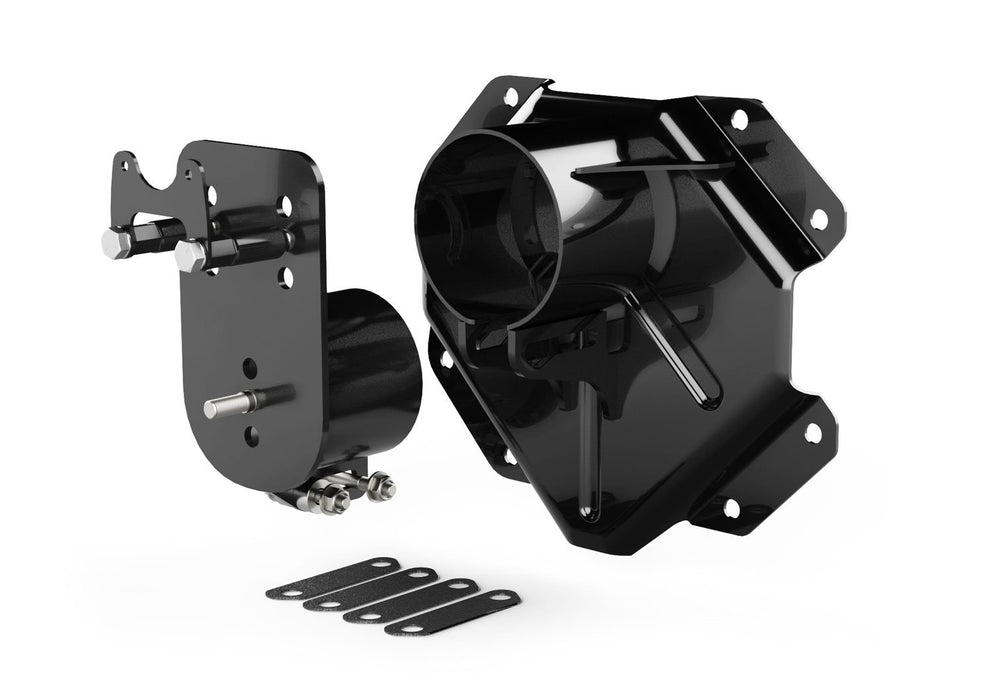 Jeep JK/JKU Alpha HD Adjustable Spare Tire Mounting Kit 8x6.5 Inch 07-18 Wrangler JK/JKU TeraFlex