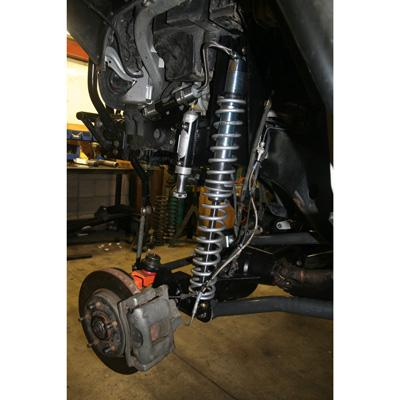 JK Front Coil-over Conversion Kit 2.5 Inch DIA Axle 07-18 Wrangler JK/JKU Synergy MFG