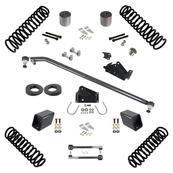 JK 3.0 Inch Lift RHD Stage 1.5 Suspension System 07-18 Wrangler JK 2 DR Synergy MFG