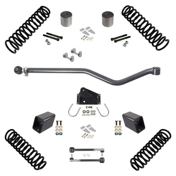 JK 2.0 Inch Lift RHD Stage 1 Suspension System 07-18 Wrangler JKU 4 DR Synergy MFG
