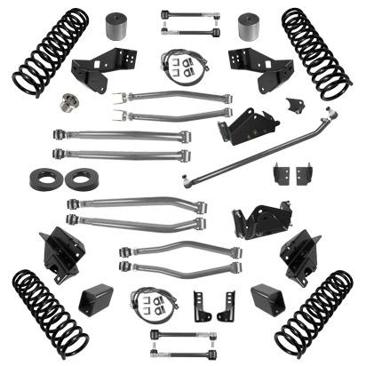 JK 3.0 Inch Lift Stage 4 Suspension System 07-18 Wrangler JKU 4 DR Synergy MFG