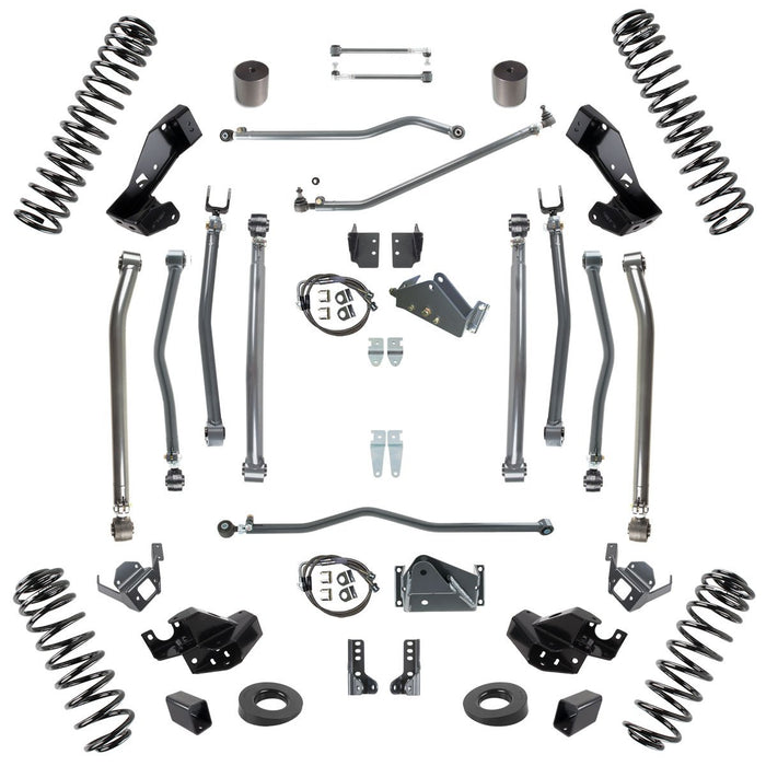 JK 6.0 Inch Lift Stage 4 Suspension System 07-18 Wrangler JKU 4 DR Synergy MFG