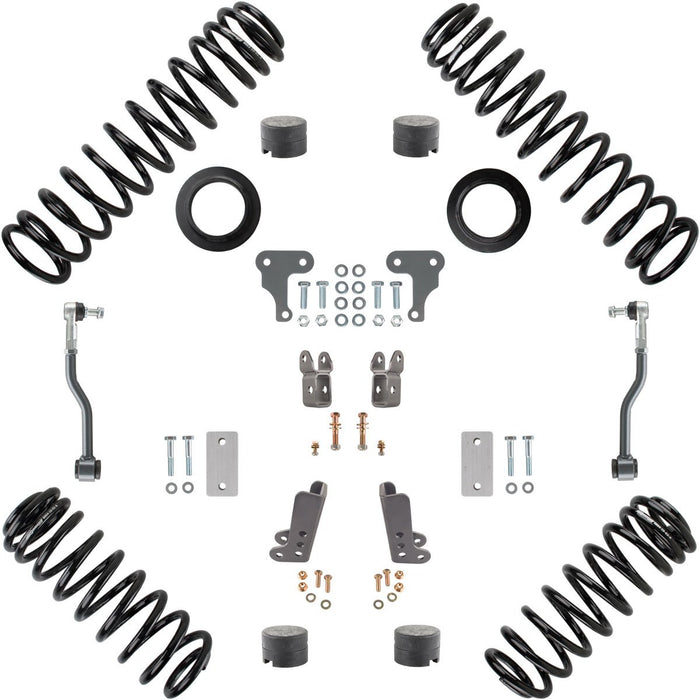 JL 2 Inch Lift Starter Suspension System 2 Dr Synergy MFG