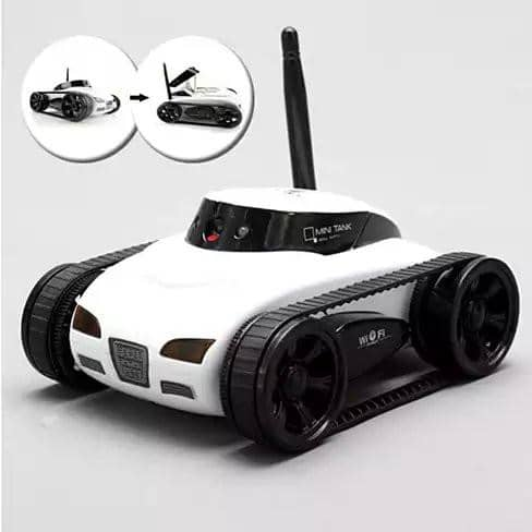 All Mighty TOY TANK with Wireless Camera and Remote Control by APP - Zenogram Shop LLC