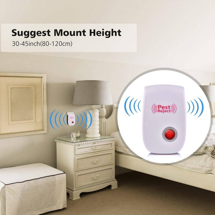 Pest Control Ultrasonic Repeller Electronic Mouse - Zenogram Shop LLC