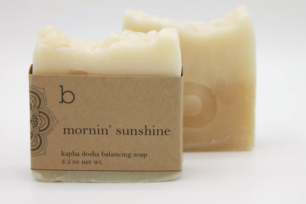 Mornin' Sunshine Dosha Balancing Soap