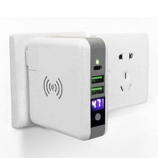 World Wide Multi-Power Gizmo With Wireless Charger - Zenogram Shop LLC