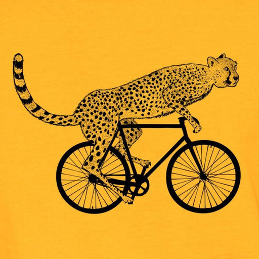 Cheetah on a bike - Zenogram Shop LLC