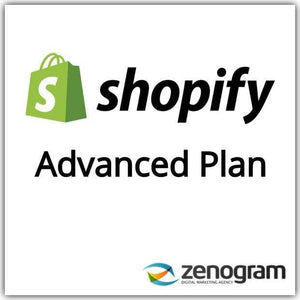 Zenogram Zenogram Service Shopify Advanced Website Plan