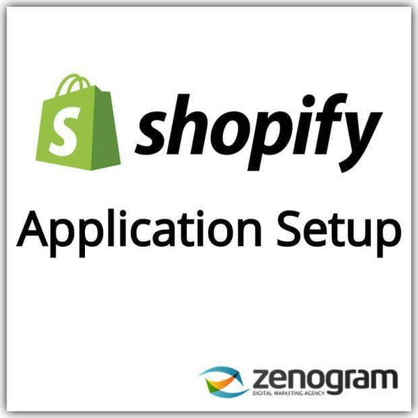 Zenogram Zenogram Service Shopify Application Setup