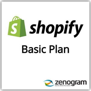 Zenogram Zenogram Service Shopify Basic Website Plan