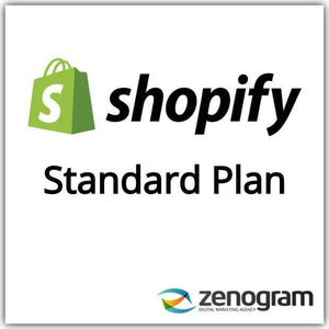 Zenogram Zenogram Service Shopify Standard Website Plan
