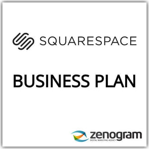 Zenogram Zenogram Service Squarespace Business Website Plan