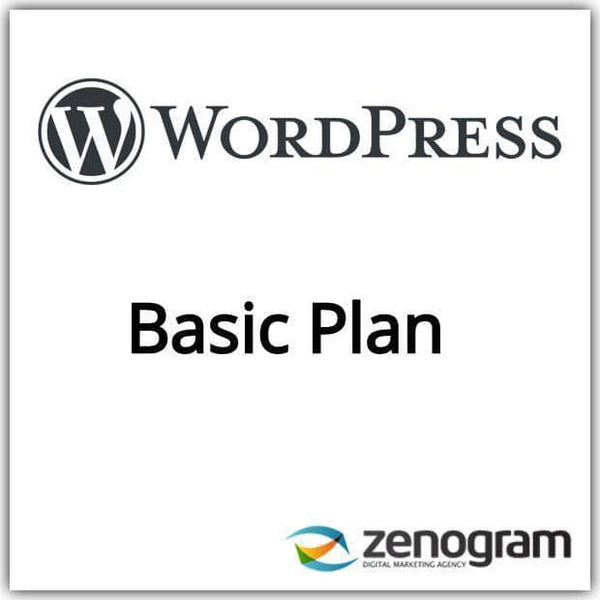Zenogram Zenogram Service Wordpress Basic Website Plan