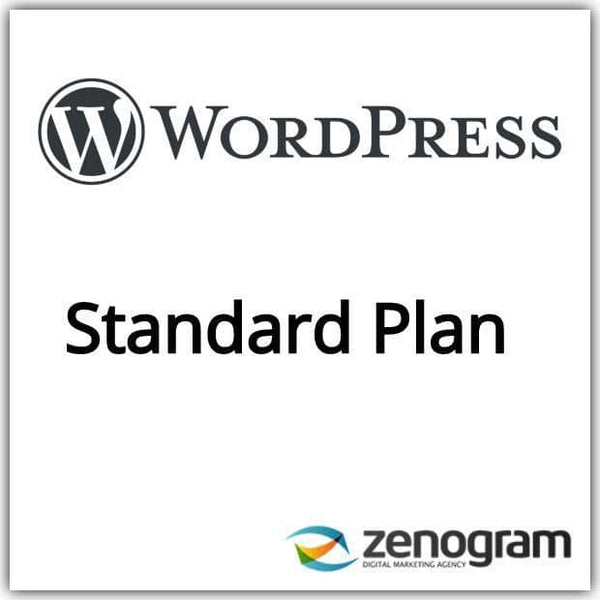 Zenogram Zenogram Service Wordpress Standard Website Plan