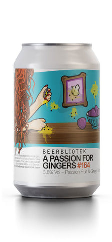 Beerbliotek A Passion for Gingers Berliner Weisse (330ml Can)
