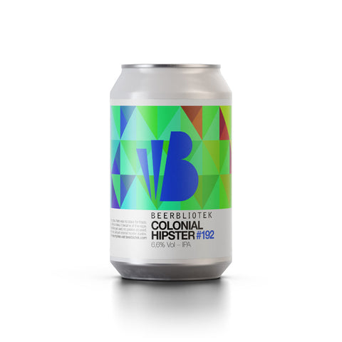 Beerbliotek Colonial Hipster New England IPA (330ml Can)