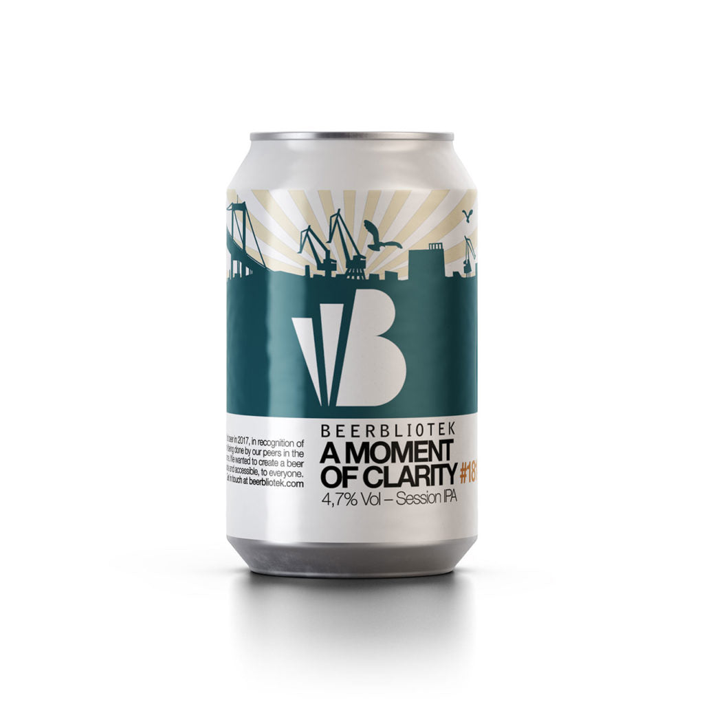 Beerbliotek A Moment of Clarity Session IPA (330ml Can)