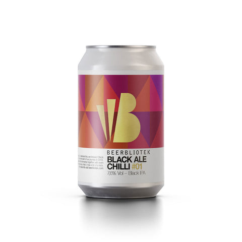 Beerbliotek Black Ale Chilli IPA(330ml Can)