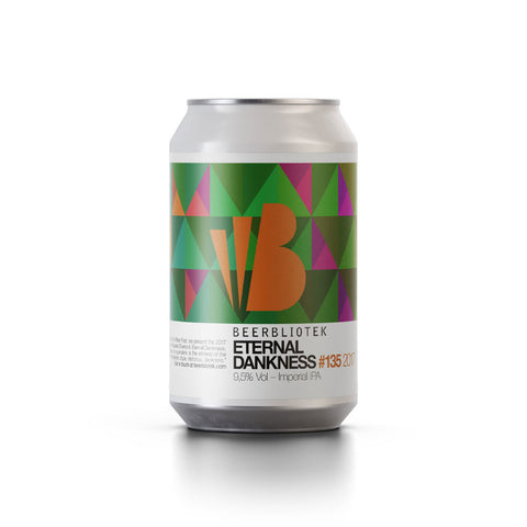 Beerbliotek Eternal Dankness Imperial IPA (330ml Can)