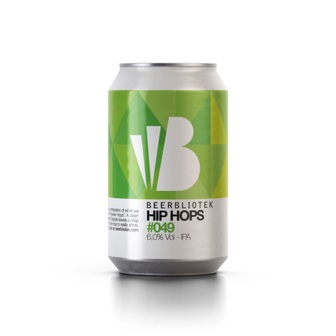 Beerbliotek Hip Hops IPA (330ml Can)