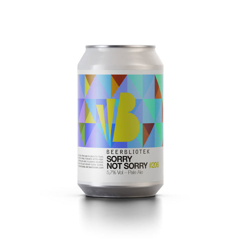 Beerbliotek Sorry Not Sorry Pale Ale (330ml Can)