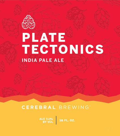 Cerebral Plate Tectonics IPA (16oz Can)
