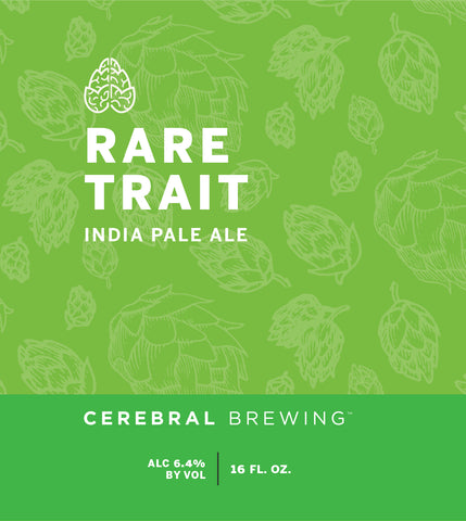 Cerebral Rare Trait IPA (16oz Can)