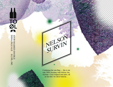 To Øl Nelson Survin American Sour IIPA