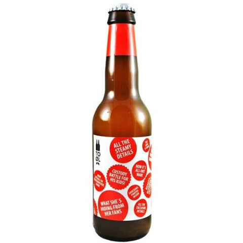 To Øl Gossip Gose with Rose Hip
