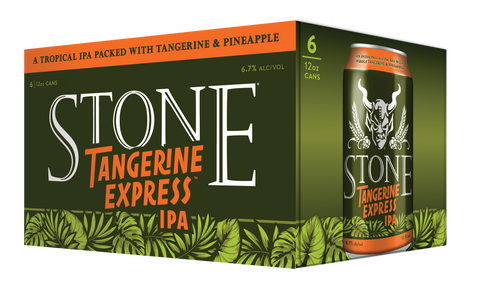 Stone Tangerine Express IPA (12oz Can) 24 pack/case