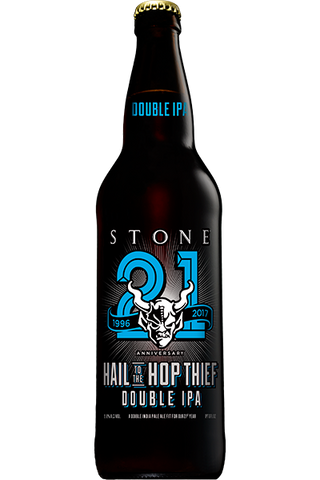 Stone 21st Anniversary Hail to the Hop Thief Double IPA (22oz)