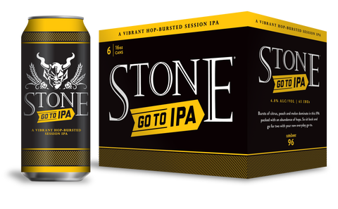 Stone Go To IPA 16oz Can in cases