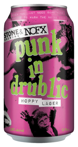 Stone Punk in Drublic Hoppy Lager