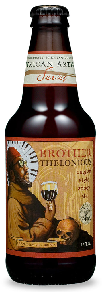 North Coast Brother Thelonious Belgian Style Abbey Ale