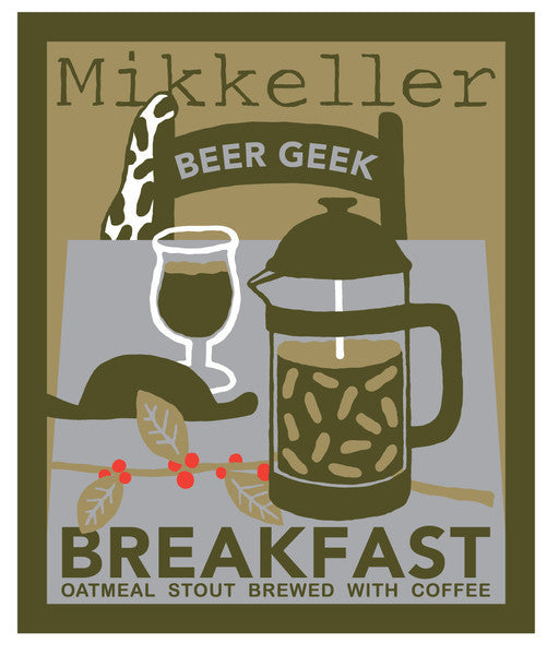 Mikkeller Beer Geek Breakfast Oatmeal Stout