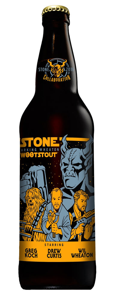 Stone Farking Wheaton W00t Stout 22oz