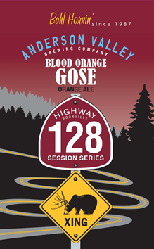 Anderson Valley Blood Orange Gose
