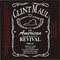 Clint Maul - The American Powerpop Revival CDr demo