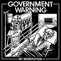 Government Warning - No Moderation LP